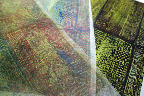 dyeing fabric to design your own makes fabric art   Textile