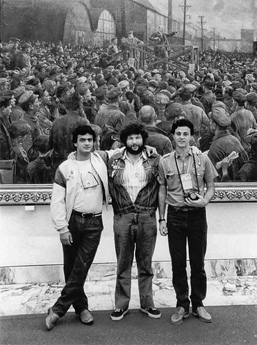 Aécio Neves e Sílvio Tendler - Congresso Internacional da Juventude - Moscou - 1985 | by Aécio Neves - Senador