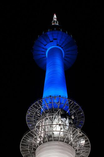 Namsan Tower (N Seoul Tower), Seoul, South Korea   by Jirka Matousek