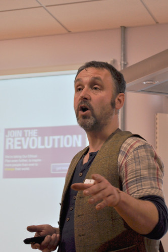 Mark Simmonds at the Real Bread Campaign gathering 24JAN13 | by Real Bread Campaign
