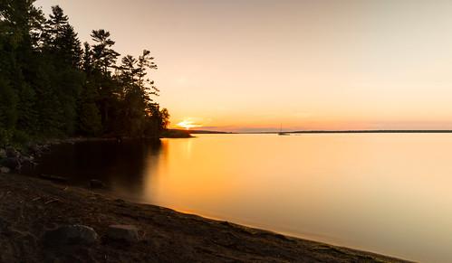 arnprior ottawariver robertsimpsonpark sunset longexposure neutraldensityfilter
