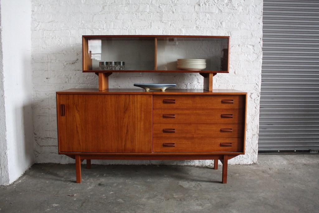 1960s Danish Credenza : Danish mid century rosewood credenza c s