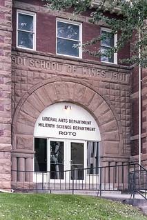SDSM&T Liberal Arts Building - September 1982