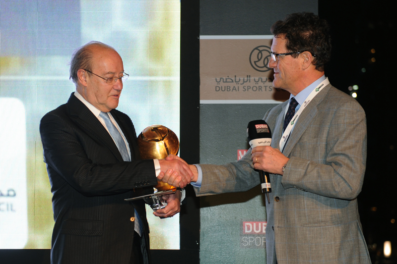 Pinto Da Costa and Fabio Capello