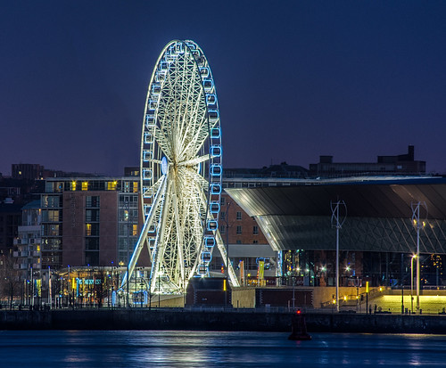 Liverpool ferris wheel | by orrellsphoto