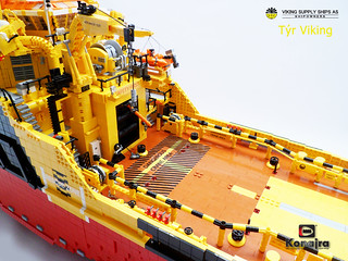 Tyr Viking (LEGO sistervessel of the FAIRPLAY-33) | by Konajra