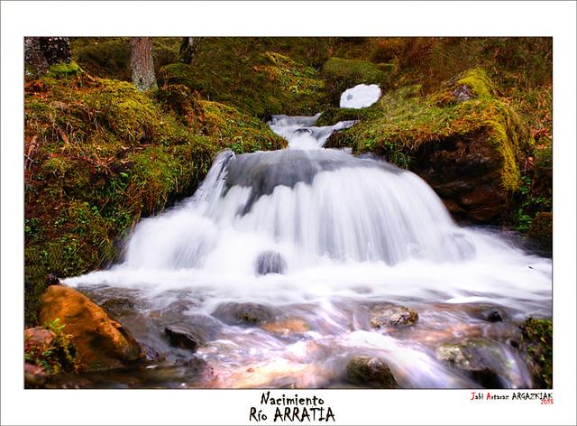 Nacimiento del río ARRATIA