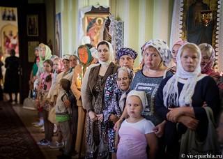 Литургия в Ильинском соборе 190