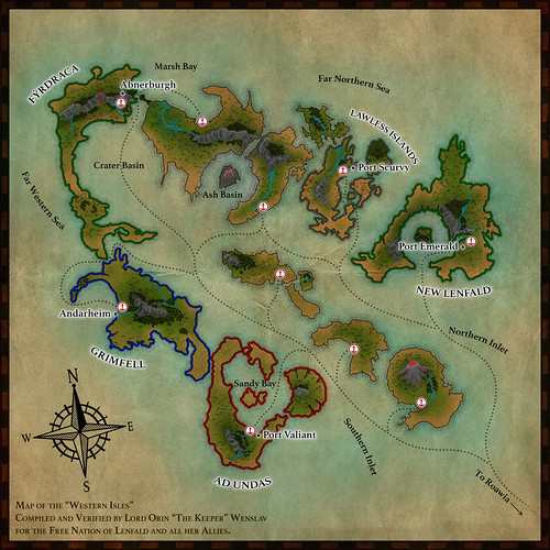 The Western Isles - Lands of Roawia (Expansion 2) | by Mitah Val Karem
