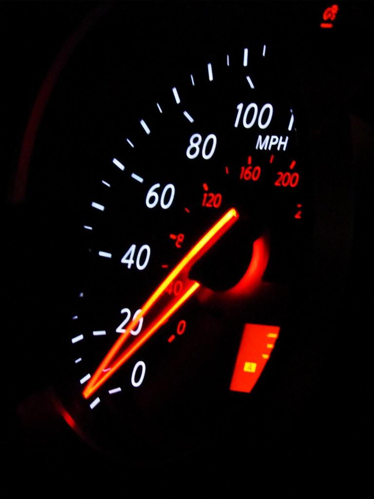 Speedometer Wallpaper Speedometer In A Car Flickr
