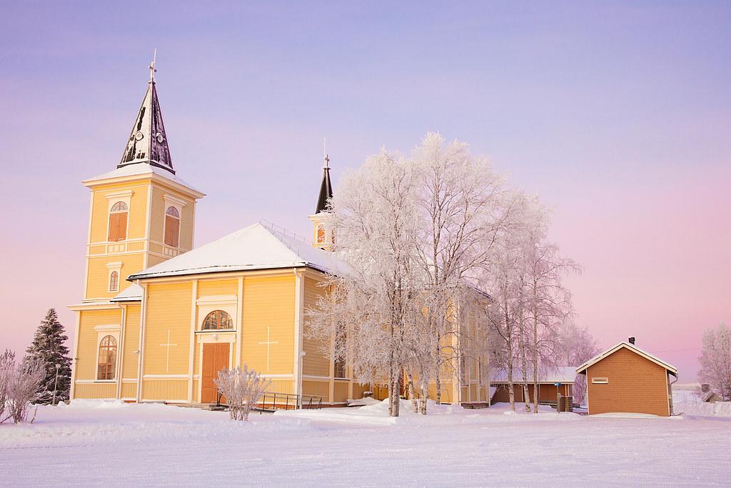 The Church of Muonio | The Church of Muonio was built in 181… | Flickr