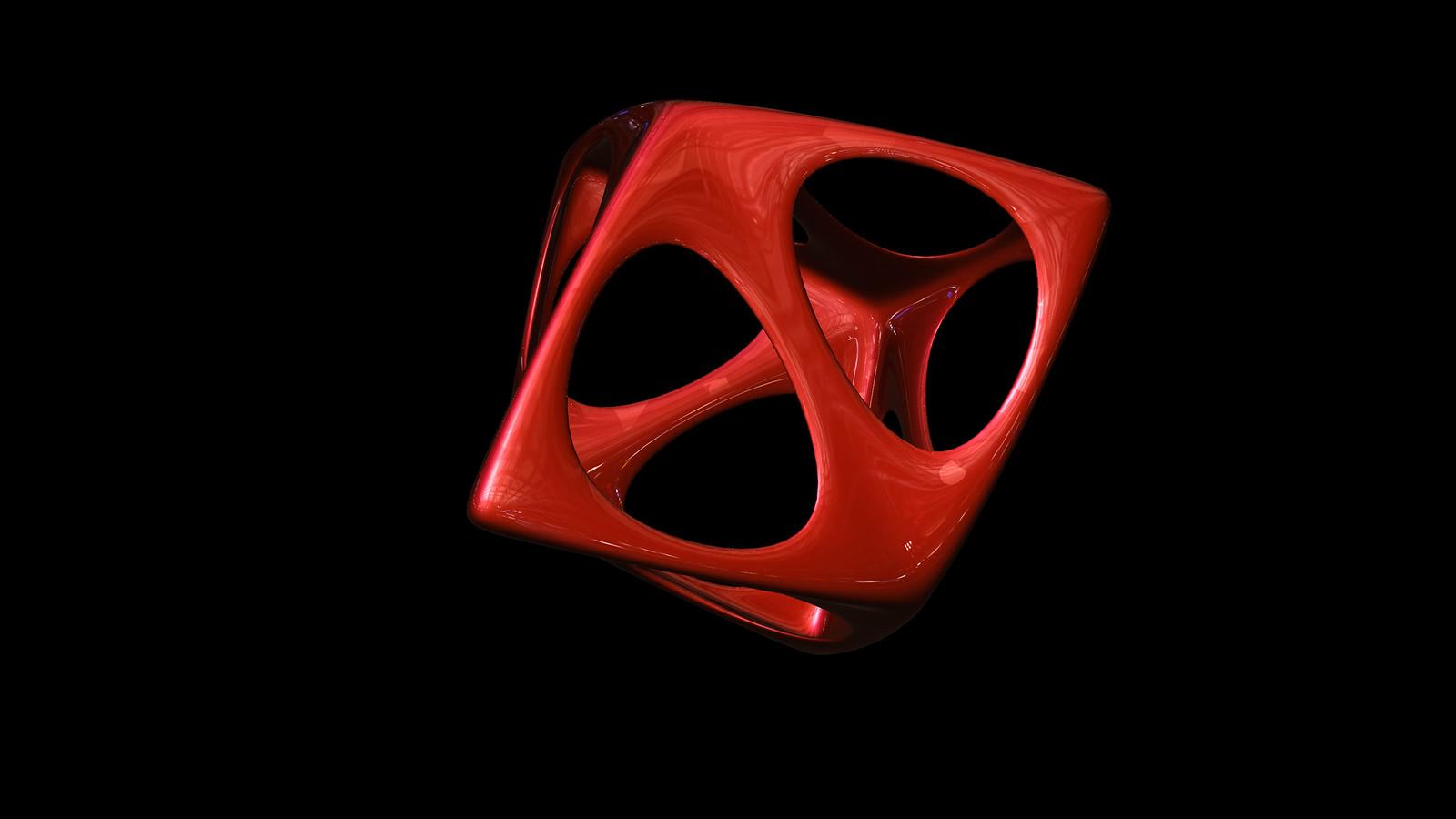 tetrahedron spiky soft
