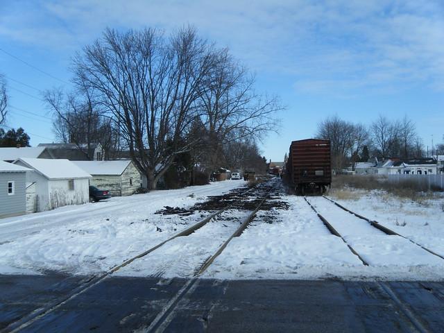 The new Napoleon Defiance and Western Railroad, Defiance Ohio