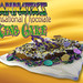 Big Easy   Pecan Praline and Cream Cheese filling inside our Exclusive Chocolate King Cake dough, topped with Cream Cheese icing.