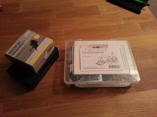 Das Arduino Starter Kit von Fritzing