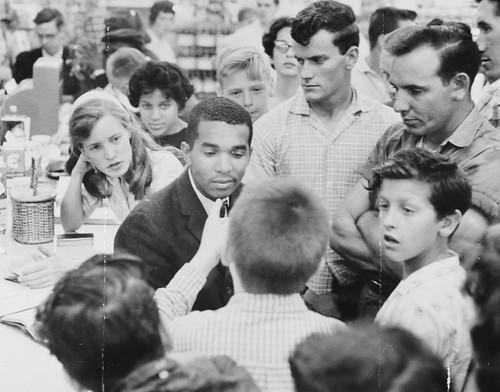 Confrontation at the Cherrydale Drug Fair Counter: 1960