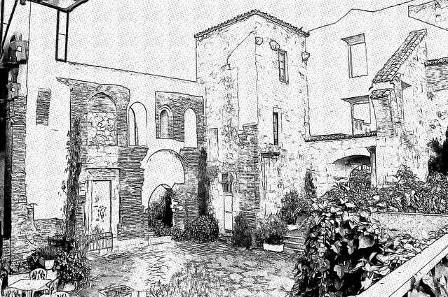 Salamanca. Ruinas Iglesia de San Polo