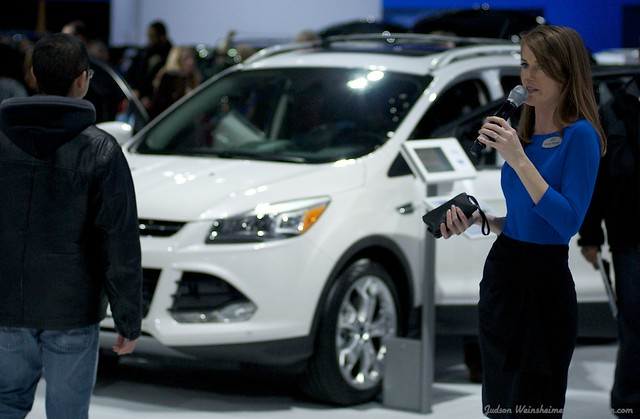 2013 Washington Auto Show - Upper Concourse - Ford 19