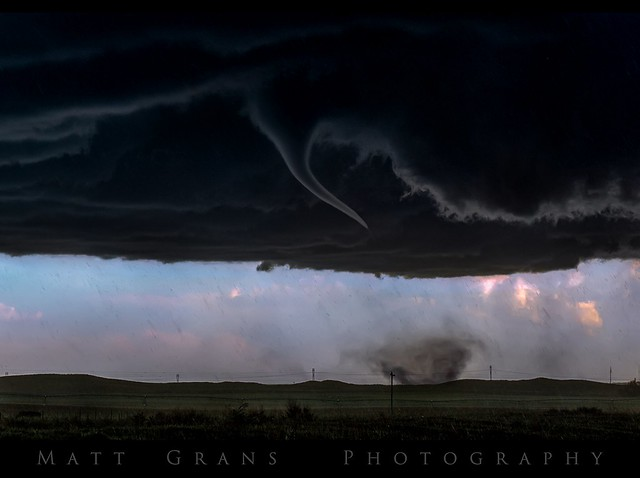 The Wray Tornado Begins