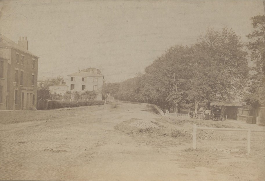New Walk, Beverley, from the south 1872 (archive ref PH-4-5 b)