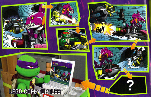 "LEGO Teenage Mutant Ninja Turtles :: ""Stealth Shell in Pursuit"" ; manual iii (( 2013 )) by tOkKa"
