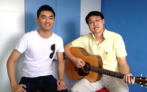 Beginner guitar lessons Singapore Ric