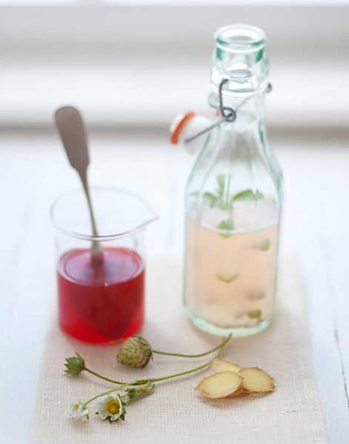 homemade ginger ale | by Our Designed Life
