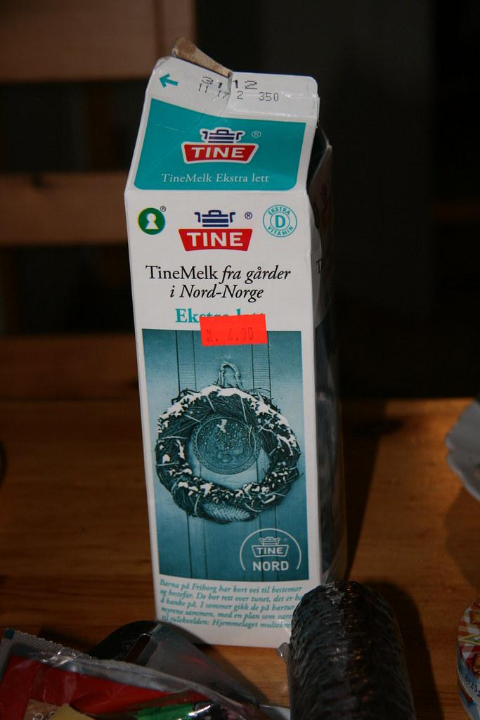 Tine Tinemelk Fra Nord Norge Ekstra Lett Norwegian Milk In Flickr