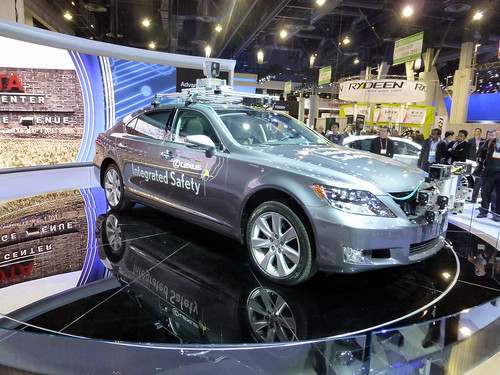 Toyota self-driving car - Consumer Electronics Show - CES 2013 - Las Vegas | by David Berkowitz