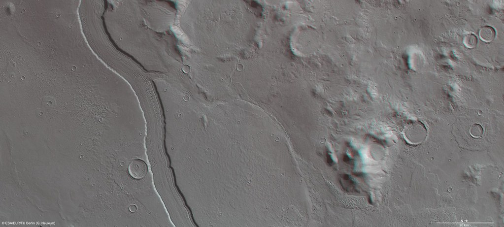 Mars in 3D: Reull Vallis