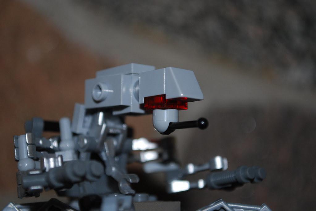 Custom Lego Star Wars Old Republic Sith War Droid View Of