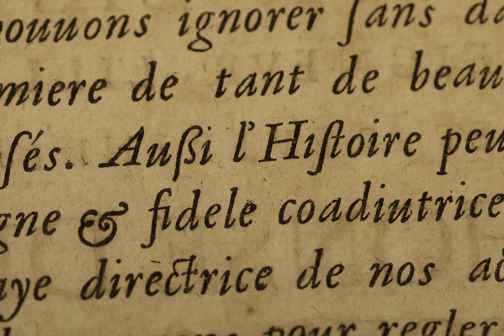 Lovely Ampersand This Was Photographed In The Rare Books R Flickr