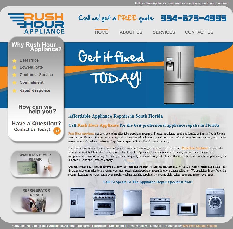Appliance Repair Fort Lauderdale Florida 5 Rush Hour