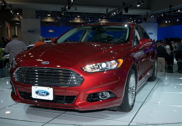 2013 Washington Auto Show - Upper Concourse - Ford 3
