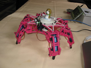 Beaglebone powered hexapod @ FOSDEM