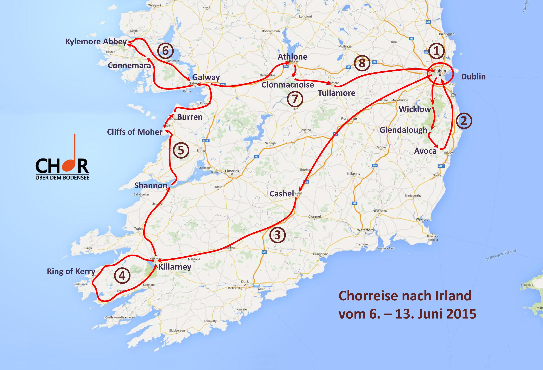 Irlandreise Juni 2015
