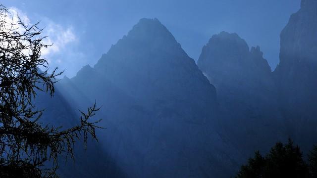Julské Alpy - skupina Prisojnik