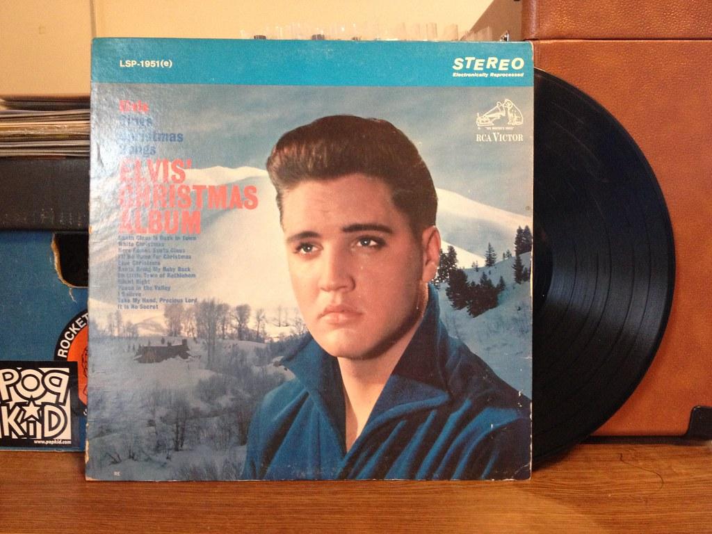 Elvis Presley Elvis Christmas Album.Elvis Presley Elvis Christmas Album Rca 1957 Used Bin
