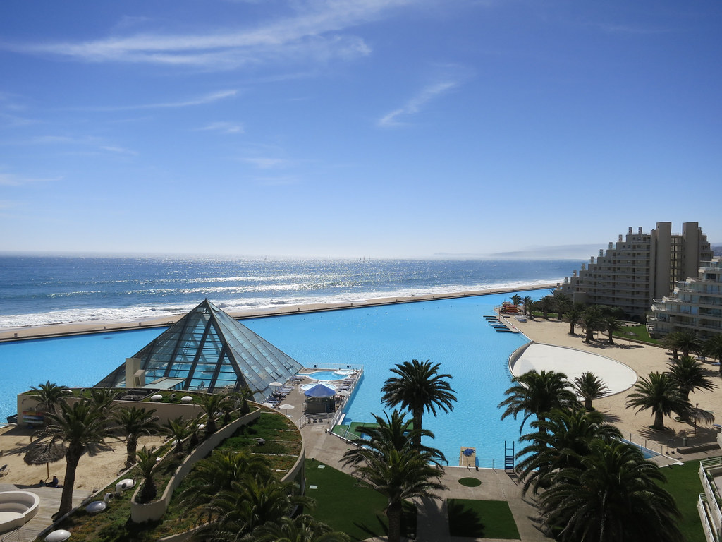 Largest Pool In Chile >> The World S Largest Pool In San Alfonso Del Mar Chile Flickr