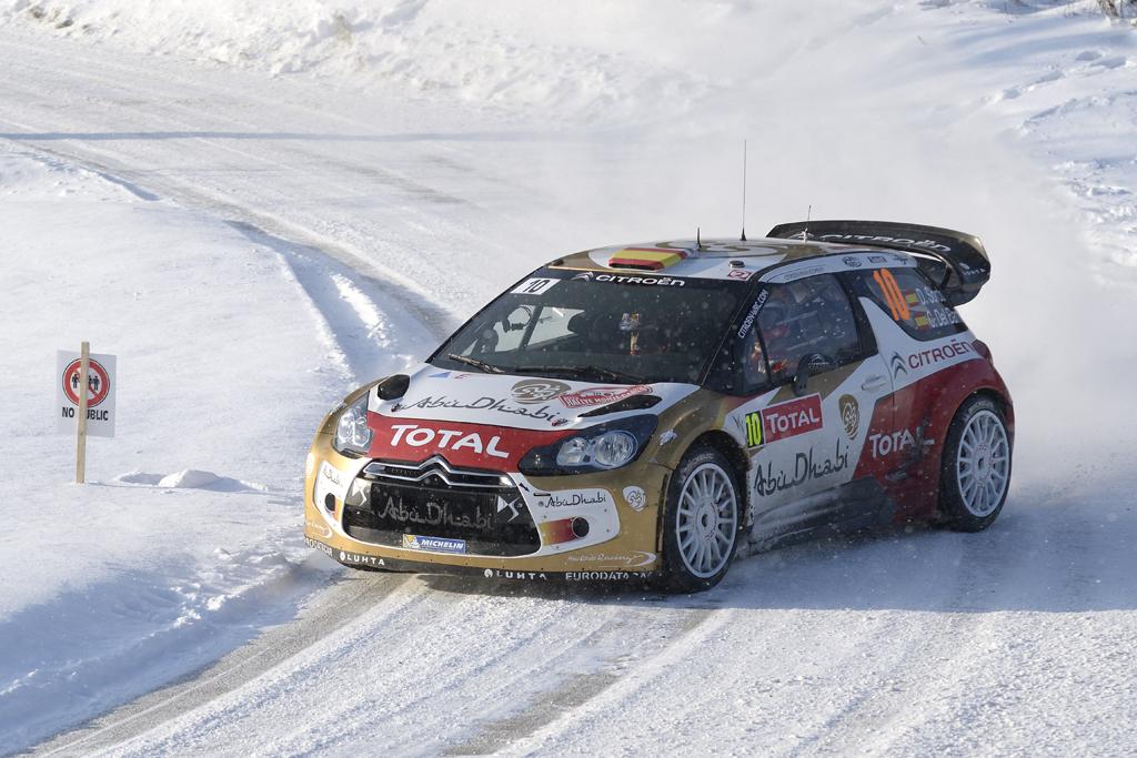 Znalezione obrazy dla zapytania Citroen DS 3 WRC 2013 D Sordo