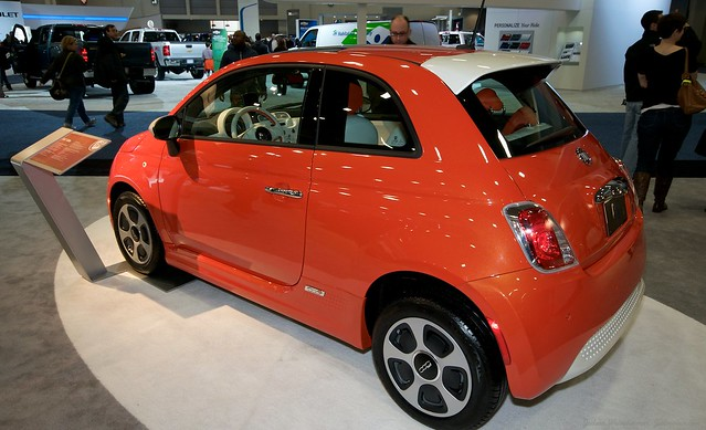 2013 Washington Auto Show - Upper Concourse - Fiat 2