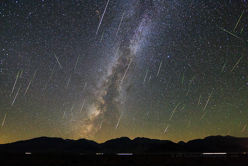 Perseid Meteor Shower 2016, West