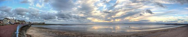 Late Day at Morecambe Bay