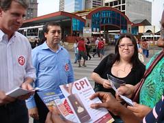 campanha a favor da CPI da telefonia
