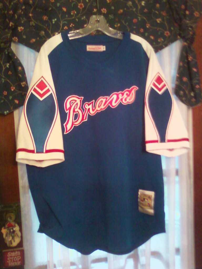 on sale 6a5a4 d1457 1974 Braves Jersey-front | cgcoyne2 | Flickr
