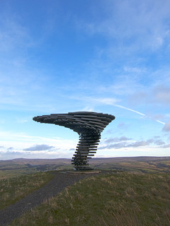 The Singing Ringing Tree, Crown Point, Burnley, Lancashire (SD 851289) [HDR Composite Image] | by Pigalle