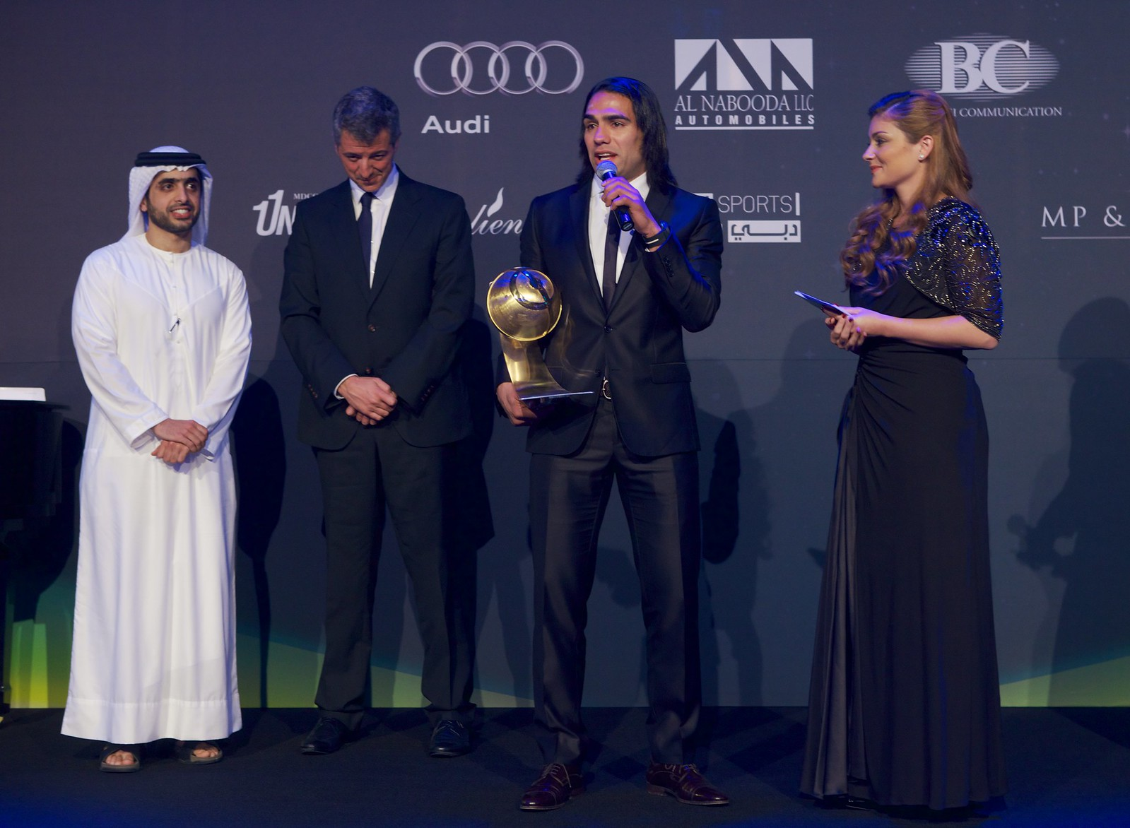 Radamel Falcao - Best Player of the year Award