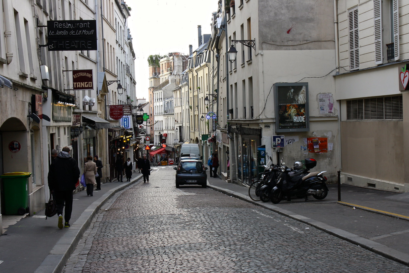 Rue Mouffetard, Paris, France