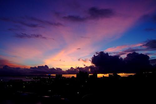 sunset summer japan ray 日本 okinawa 夏 沖縄 夕日 ishigaki 石垣島 サンセット 琉球 たそがれ