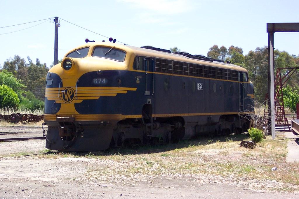 B74 awaiting repairs by LC501
